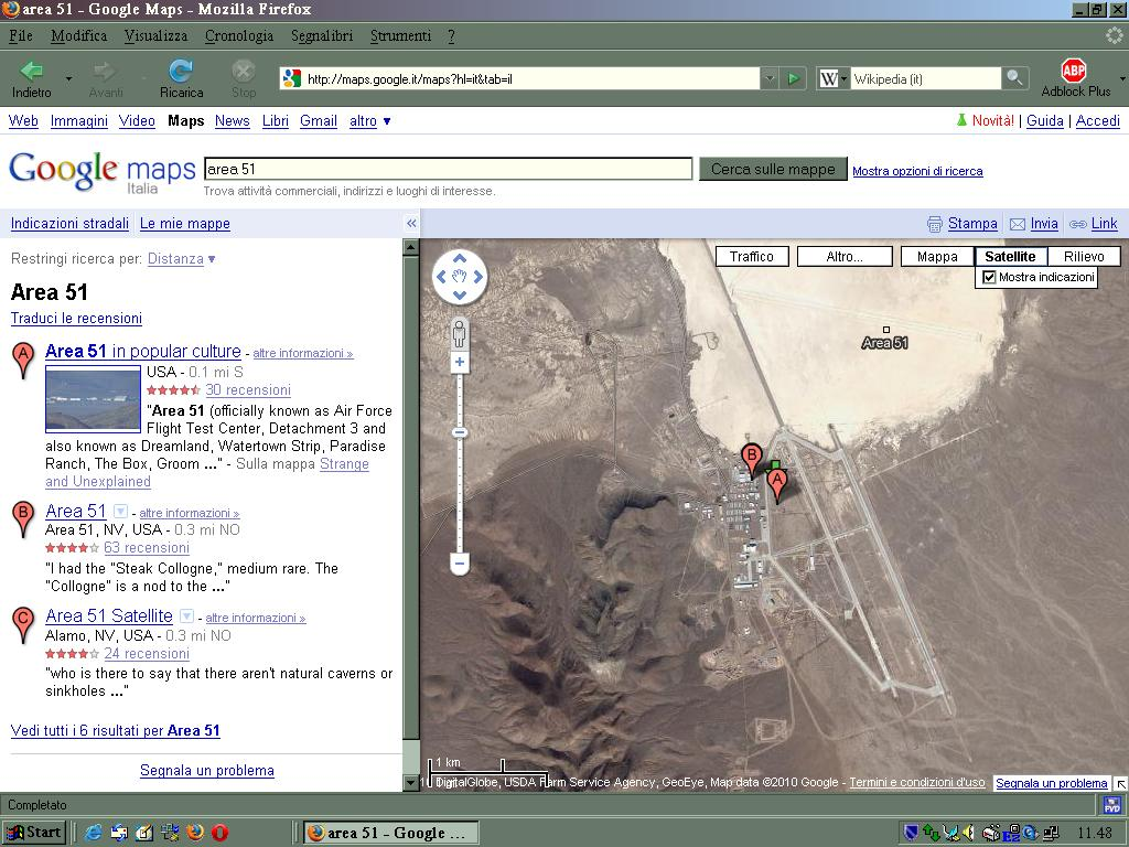 Area 51 Google Maps - #GolfClub